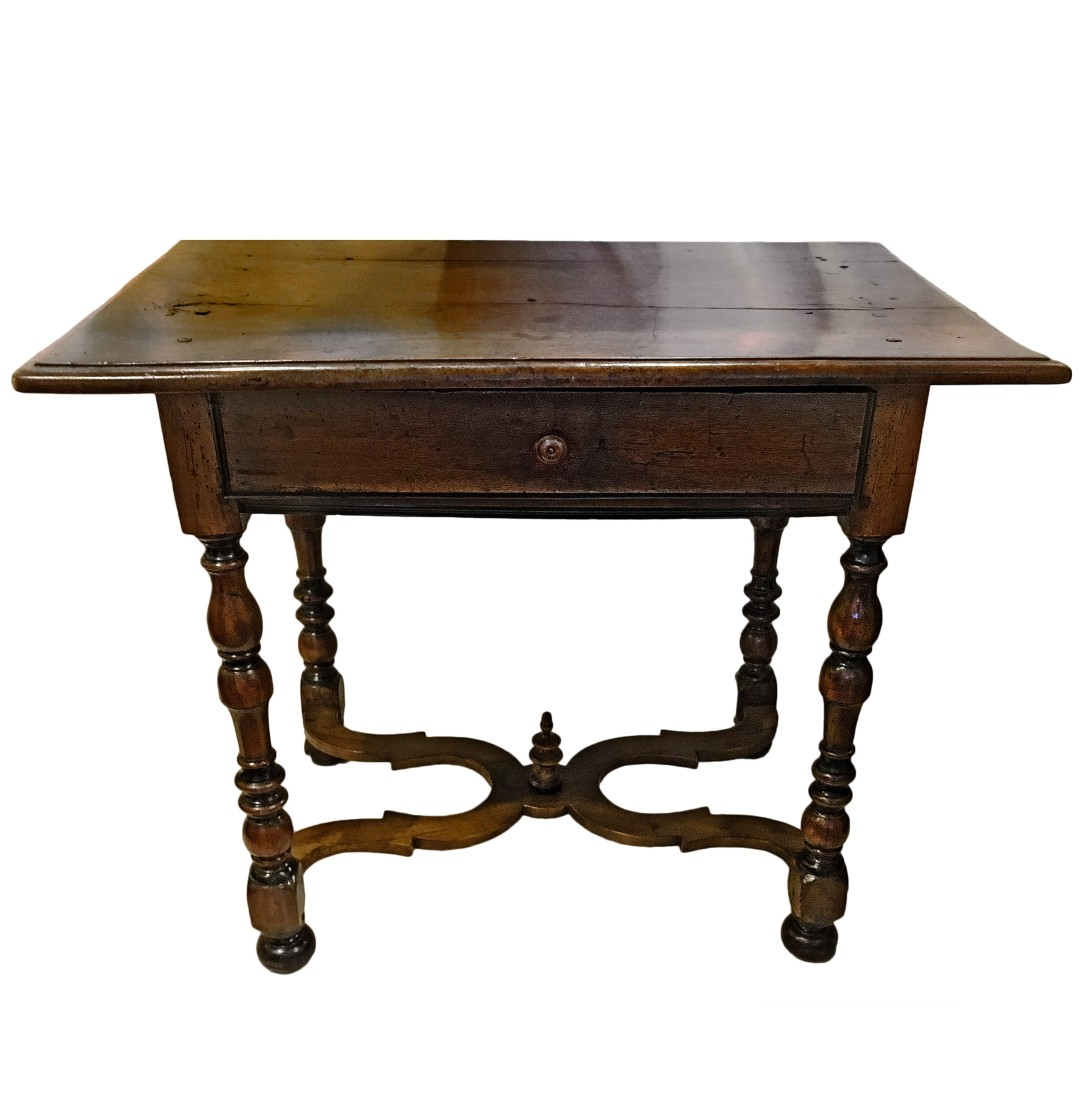 louis xiii style side table john nelson antiques. Black Bedroom Furniture Sets. Home Design Ideas
